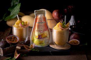 Passion Fruit and Mango Smoothie Frozen Fruit Thailand