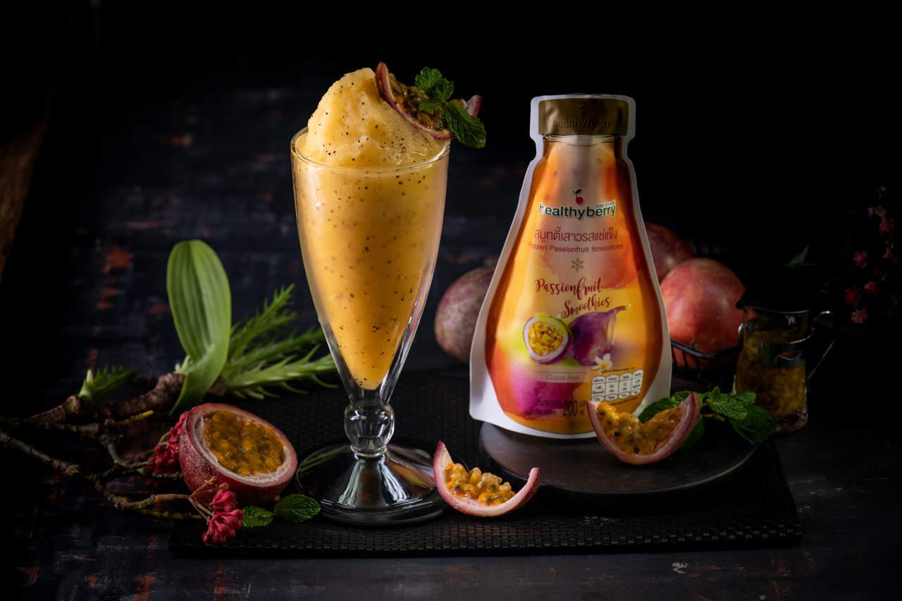 Passion Fruit Smoothie Frozen Fruit Thailand