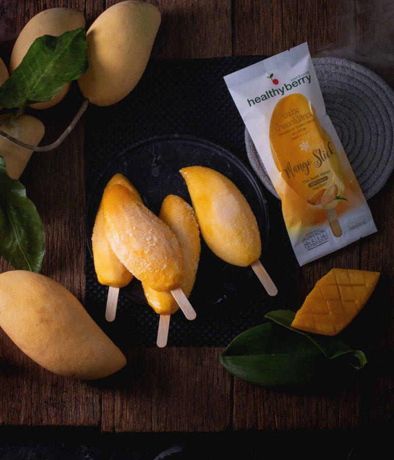 Frozen Mango on Stick Thailand