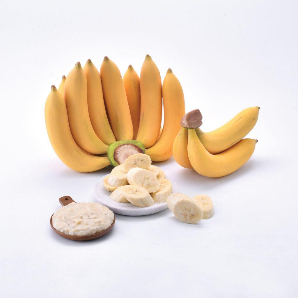 Golden Banana Frozen Fruit Thailand