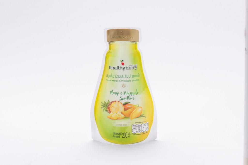 Mango and Pineapple Smoothies Frozen Fruit Thailand